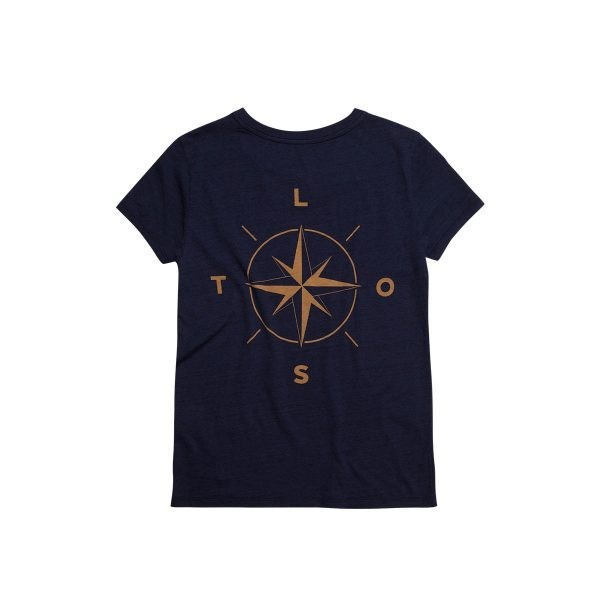 Compass-tee-navy-women-back